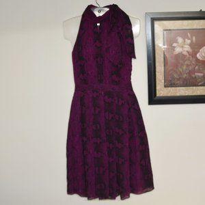 White House Black Market Snake Print Dress Size 2
